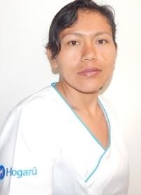 Empleada doméstica en Bogotá María Delida Guapacho Santa