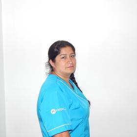 Empleada doméstica en Bogotá Luz Angela Arenas Mesa