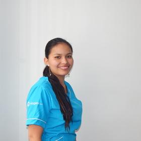 Empleada doméstica en Bogotá Angi Lizeth Mollano Castro