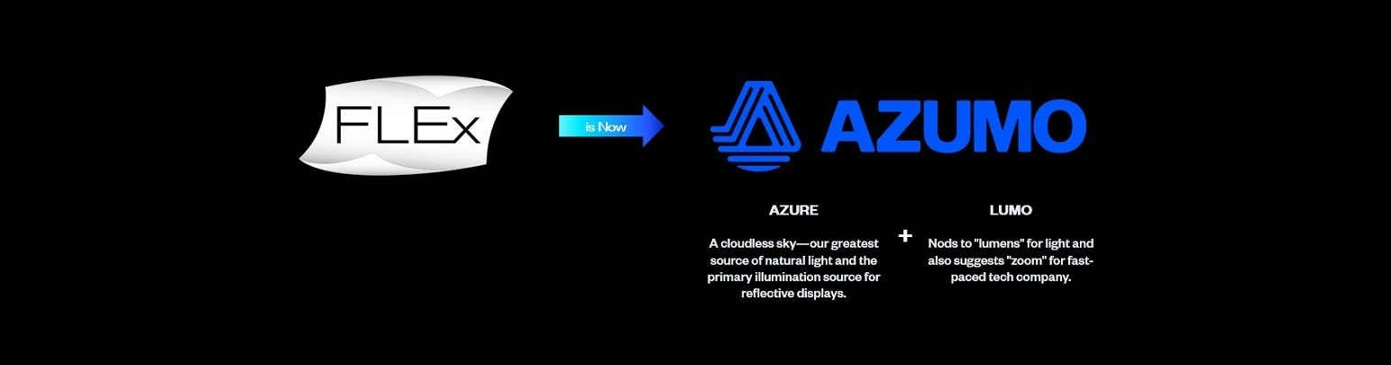 Flex Azumo Black Whiteline