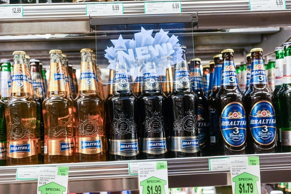 Invisi Sign Pop Retail Displays