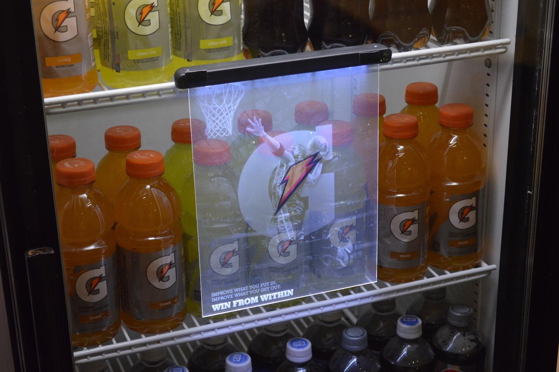 Invisi Sign Retail Pop Gatorade