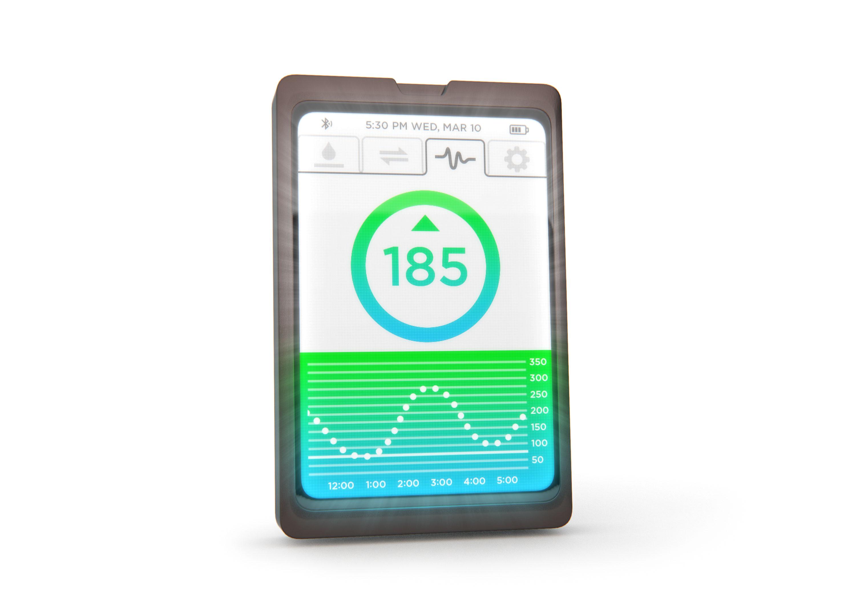 Frontlit Medical Handheld Device