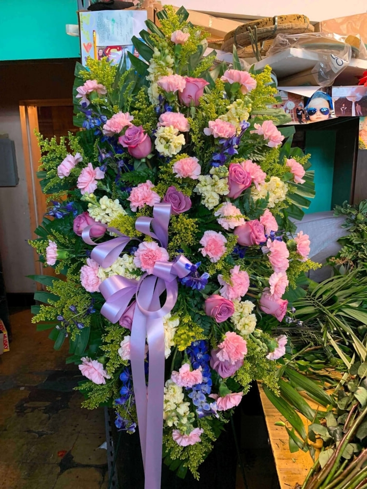 The Spring Sunshine Bouquet by Fasan Florist