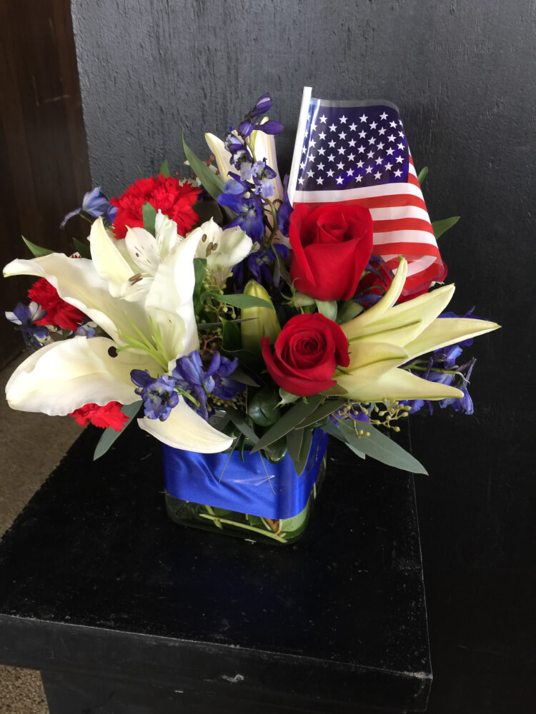 America the Beautiful by Fasan Florist