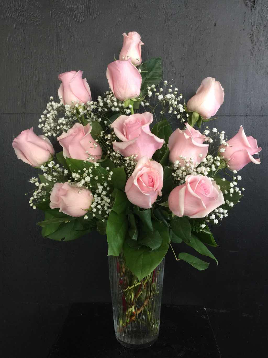 Precious Pink Roses by Fasan Florist