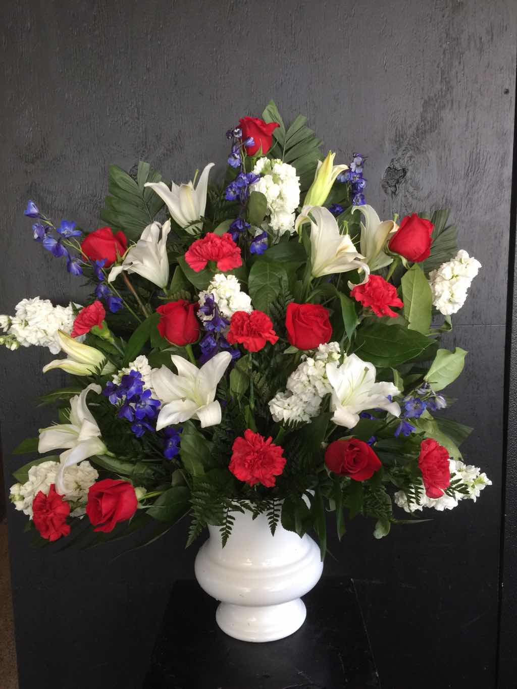Cherished Farewell Arrangement by Fasan Florist