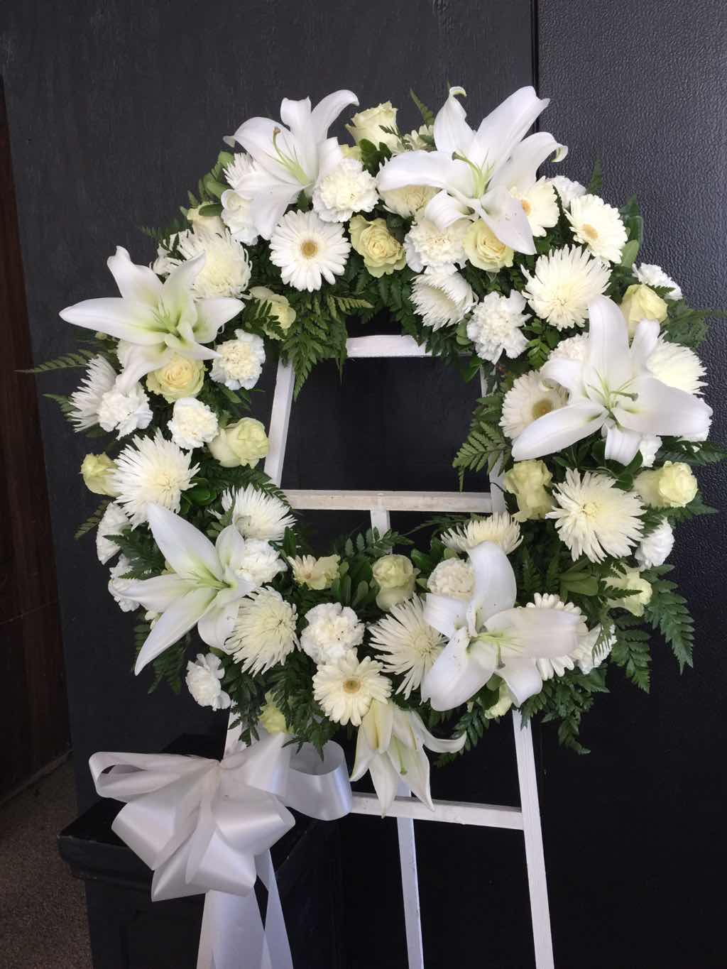 Serenity Wreath by Fasan Florist
