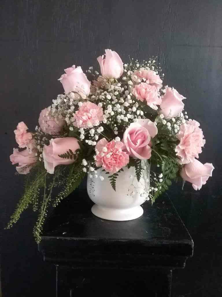 Deepest Sympathy Arrangement by Fasan Florist