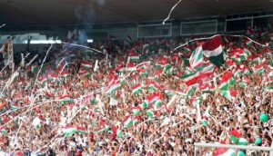 Bandeirinhas no Maraca