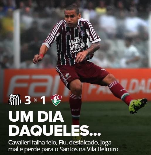 Derrota sem reação na Vila Belmiro - Blog da Flusócio d3cb3e8f57ad7