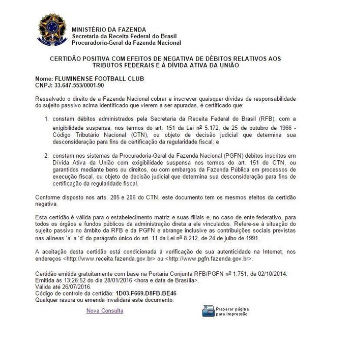 229082396ed27 Um golaço administrativo - Blog da Flusócio