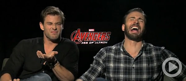 video avengers age of ultron interviews