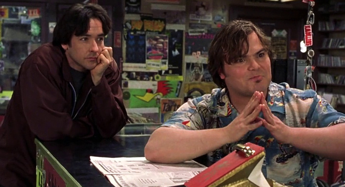 High Fidelity starring John Cusack and Jack Black (Buena Vista)