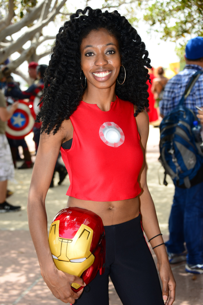 """iron women In marvel comic's relaunch of """"invincible iron man,"""" a 15-year-old black woman will take over tony stark's role."""