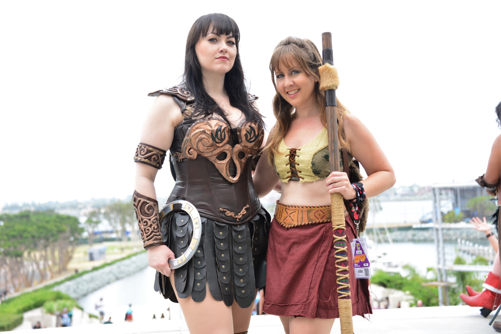 Xena And Gabrielle From Xena Warrior Princess Rotten Tomatoes