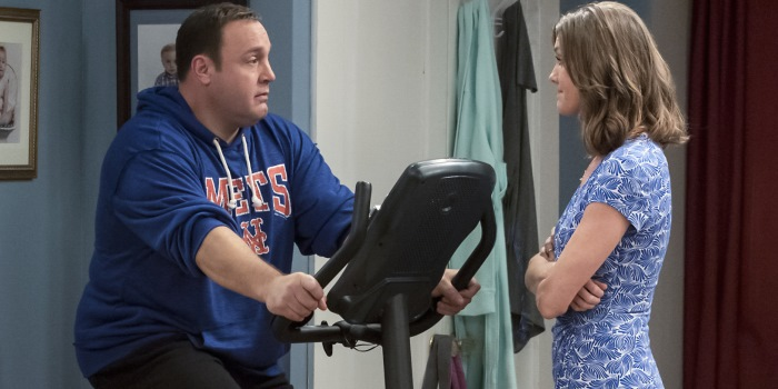 Kevin Can Wait stars Kevin James and Erinn Hayes (CBS)