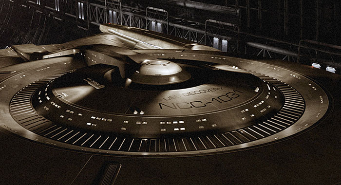 Star Trek: Discovery ship (Courtesy of CBS Television Studios)