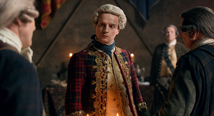 Outlander - Andrew Gower (as Prince Charles Stuart)- Episode 210 (Starz)