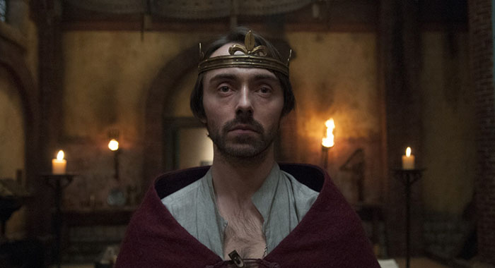David Dawson as King Alfred in The Last Kingdom (BBC America)