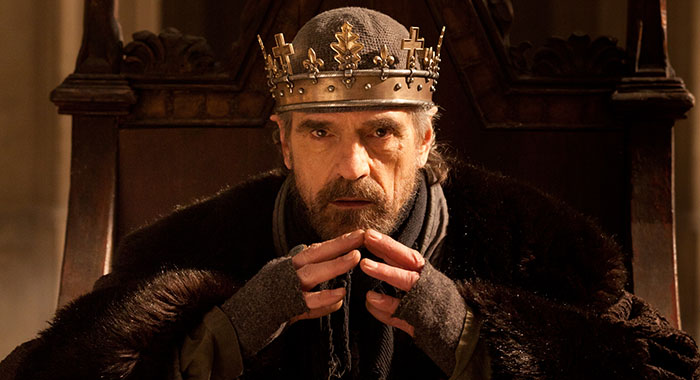 Jeremy Irons in The Hollow Crown - Henry IV Part One (BBC)