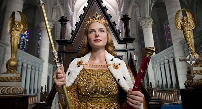 Rebecca Ferguson as The White Queen (Starz)