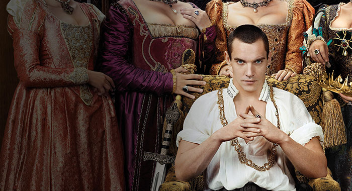 "Jonathan Rhys Meyers as King Henry VIII in ""The Tudors"" (Showtime)"