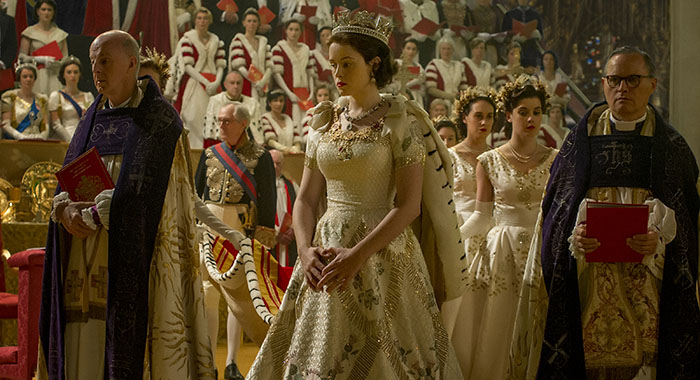 Claire Foy stars as Elizabeth in The Crown (Netflix)