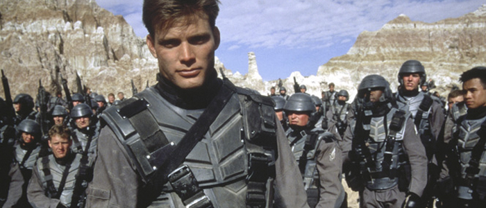 an analysis of the book starship troopers by robert heinleins and the movie adaptation of the same Home » interviews » mind meld » mind meld: what makes a successful scifi/fantasy book adaptation  so telling the same story in.