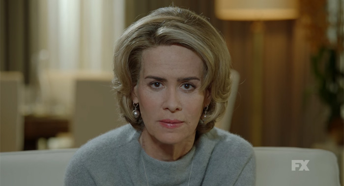 Sarah Paulson as Lana Winters in American Horror Story: Roanoke (FX)