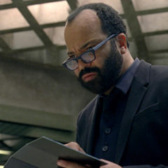 Thandie Newton and Jeffrey Wright in Westworld (HBO)