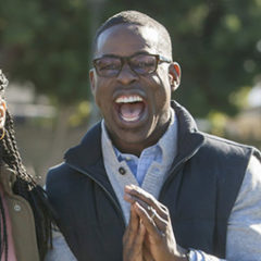 This Is Us - Susan Kelechi Watson and Sterling K. Brown (Ron Batzdorff/NBC)