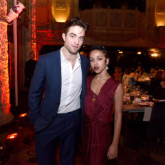 LOS ANGELES, CA - DECEMBER 10:  Robert Pattinson and FKA Twigs attend the 2016 Los Angeles Dance Project Gala at The Theatre at Ace Hotel Downtown LA on December 10, 2016 in Los Angeles, California.  (Photo by Vivien Killilea/Getty Images for L.A. Dance Project)