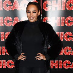 "NEW YORK, NY - DECEMBER 21:  Mel B returns to Broadway's ""Chicago"" at Sardi's on December 21, 2016 in New York City.  (Photo by Nicholas Hunt/Getty Images)"