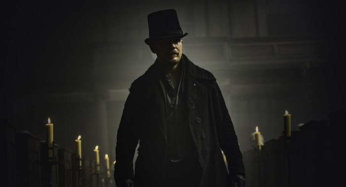 TABOO Tom Hardy as James Keziah Delaney. Robert Viglasky/FX)