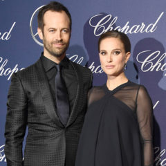 PALM SPRINGS, CA - JANUARY 02:  Choreographer Benjamin Millepied and actress Natalie Portman attend the 28th Annual Palm Springs International Film Festival Film Awards Gala at the Palm Springs Convention Center on January 2, 2017 in Palm Springs, California.  (Photo by Frazer Harrison/Getty Images )
