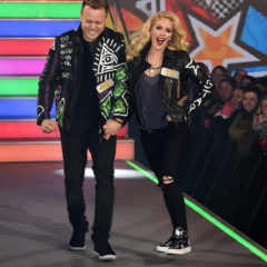 BOREHAMWOOD, ENGLAND - JANUARY 03:  Spencer Pratt and Heidi Montag enter the Celebrity Big Brother House at Elstree Studios on January 3, 2017 in Borehamwood, England.  (Photo by Eamonn M. McCormack/Getty Images)