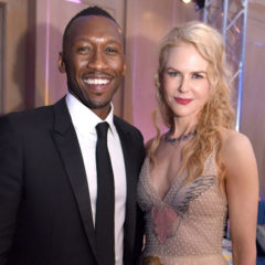 """PALM SPRINGS, CA - JANUARY 02:  Actor Mahershalalhashbaz """"Mahershala"""" Ali and actress Nicole Kidman attend the 28th Annual Palm Springs International Film Festival at Parker Palm Springs on January 2, 2017 in Palm Springs, California.  (Photo by Vivien Killilea/Getty Images for Palm Springs International Film Festival )"""