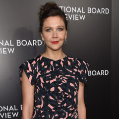 NEW YORK, NY - JANUARY 04:  Presenter Maggie Gyllenhaal attends the 2016 National Board of Review Gala at Cipriani 42nd Street on January 4, 2017 in New York City.  (Photo by Jamie McCarthy/Getty Images)