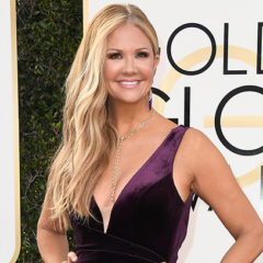 BEVERLY HILLS, CA - JANUARY 08: TV Personality Nancy O'Dell attends the 74th Annual Golden Globe Awards at The Beverly Hilton Hotel on January 8, 2017 in Beverly Hills, California.  (Photo by Frazer Harrison/Getty Images)