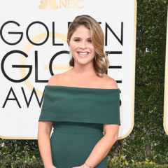 BEVERLY HILLS, CA - JANUARY 08:  TV personality Jenna Bush Hager attends the 74th Annual Golden Globe Awards at The Beverly Hilton Hotel on January 8, 2017 in Beverly Hills, California.  (Photo by Frazer Harrison/Getty Images)