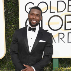 BEVERLY HILLS, CA - JANUARY 08:  Actor Trevante Rhodes attends the 74th Annual Golden Globe Awards at The Beverly Hilton Hotel on January 8, 2017 in Beverly Hills, California.  (Photo by Frazer Harrison/Getty Images)
