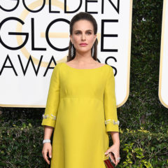 BEVERLY HILLS, CA - JANUARY 08:  Actress Natalie Portman attends the 74th Annual Golden Globe Awards at The Beverly Hilton Hotel on January 8, 2017 in Beverly Hills, California.  (Photo by Frazer Harrison/Getty Images)