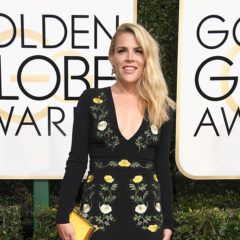 BEVERLY HILLS, CA - JANUARY 08:  Actress Busy Philipps attends the 74th Annual Golden Globe Awards at The Beverly Hilton Hotel on January 8, 2017 in Beverly Hills, California.  (Photo by Frazer Harrison/Getty Images)