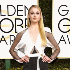 BEVERLY HILLS, CA - JANUARY 08:  Actress Sophie Turner attends the 74th Annual Golden Globe Awards at The Beverly Hilton Hotel on January 8, 2017 in Beverly Hills, California.  (Photo by Frazer Harrison/Getty Images)