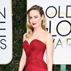 BEVERLY HILLS, CA - JANUARY 08:  Actress Brie Larson attends the 74th Annual Golden Globe Awards at The Beverly Hilton Hotel on January 8, 2017 in Beverly Hills, California.  (Photo by Frazer Harrison/Getty Images)