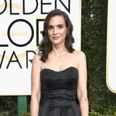 BEVERLY HILLS, CA - JANUARY 08:  Actress Winona Ryder attends the 74th Annual Golden Globe Awards at The Beverly Hilton Hotel on January 8, 2017 in Beverly Hills, California.  (Photo by Frazer Harrison/Getty Images)