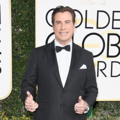 BEVERLY HILLS, CA - JANUARY 08:  Actor John Travolta attends the 74th Annual Golden Globe Awards at The Beverly Hilton Hotel on January 8, 2017 in Beverly Hills, California.  (Photo by Frazer Harrison/Getty Images)