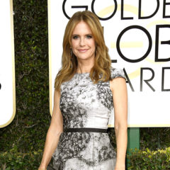 BEVERLY HILLS, CA - JANUARY 08:  Actress Kelly Preston attends the 74th Annual Golden Globe Awards at The Beverly Hilton Hotel on January 8, 2017 in Beverly Hills, California.  (Photo by Frazer Harrison/Getty Images)