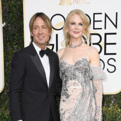BEVERLY HILLS, CA - JANUARY 08:  Musician Keith Urban and actress Nicole Kidman attend the 74th Annual Golden Globe Awards at The Beverly Hilton Hotel on January 8, 2017 in Beverly Hills, California.  (Photo by Frazer Harrison/Getty Images)